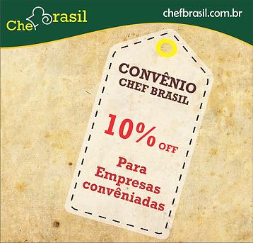 Convênio | Chef Brasil