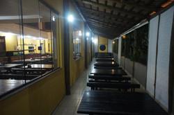 varanda lateral do restaurante