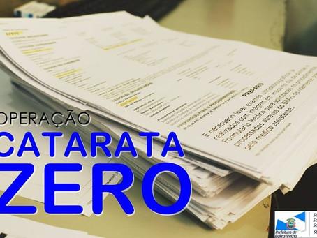 Operação Catarata zero em Barra Velha