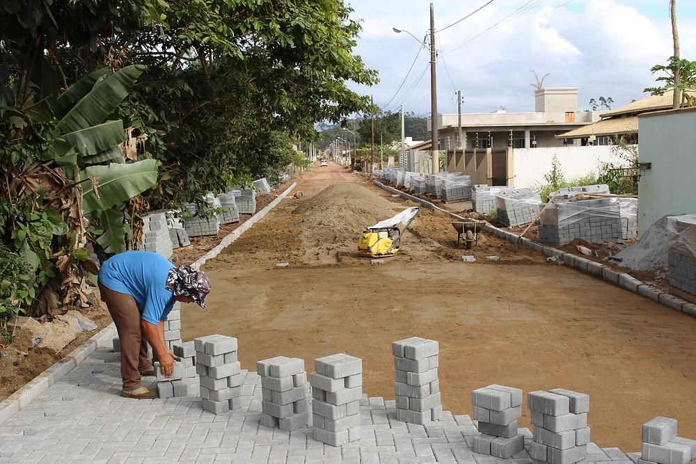 Pavimentação comunitária Balneário Piçarras