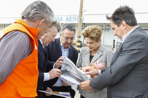 Dilma em Santa Catarina