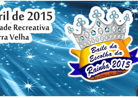 Baile para escolha da nova realeza do Festa Nacional do Pirão