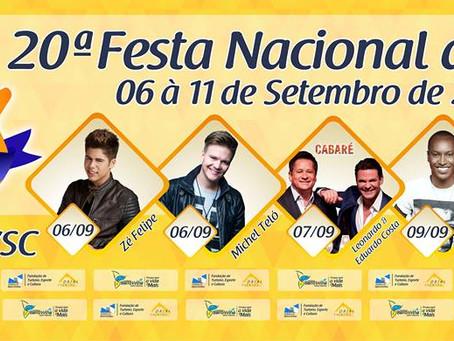 20ª Festa Nacional do Pirão: Confira programação