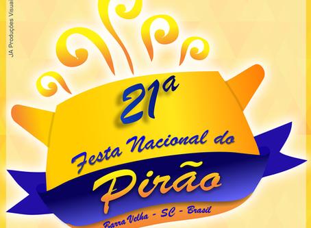 21º Festa Nacional do Pirão: Baile para escolha da realeza