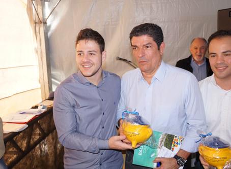 Ministro do Turismo recebe convite para abertura da 18ª Festa Nacional do Pirão