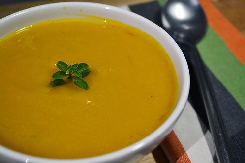 Sopa de Abóbora com gengibre - 450ml