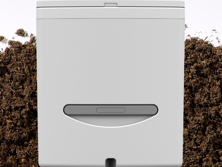 How does Cuddy Composting Toilet work?