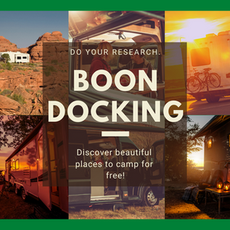 Boondocking Resources