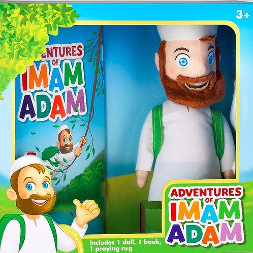 "12"" Imam Adam Plush Doll and Book"