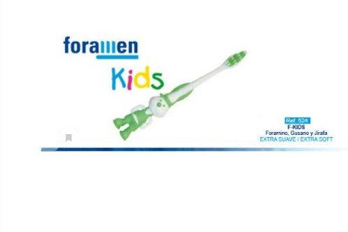 Foramen Детская зубная щетка  EXTRA SOFT (Человечек)