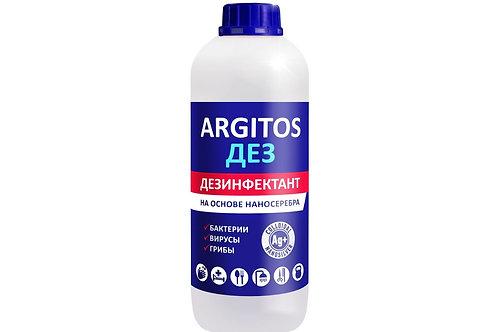 Антибактериальное средство ARGITOS-ДЕЗ для обработки рук и поверхностей. 1л
