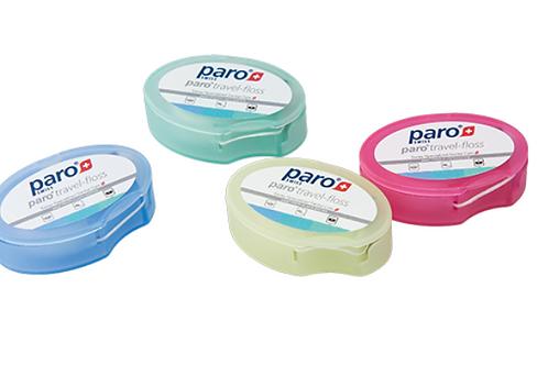 Paro Travel Floss Зубная нить дорожная, 5 м