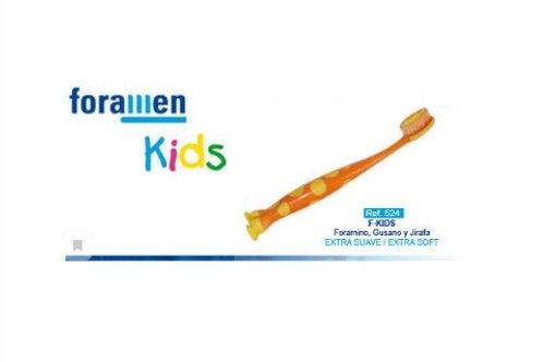 Foramen Детская зубная щетка  EXTRA SOFT (Жираф)