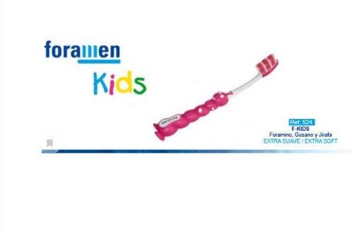 Foramen Детская зубная щетка  EXTRA SOFT (Гусеница)