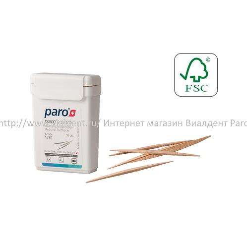 Paro Solidox Медицинские двухсторонние зубочистки, 96 шт.