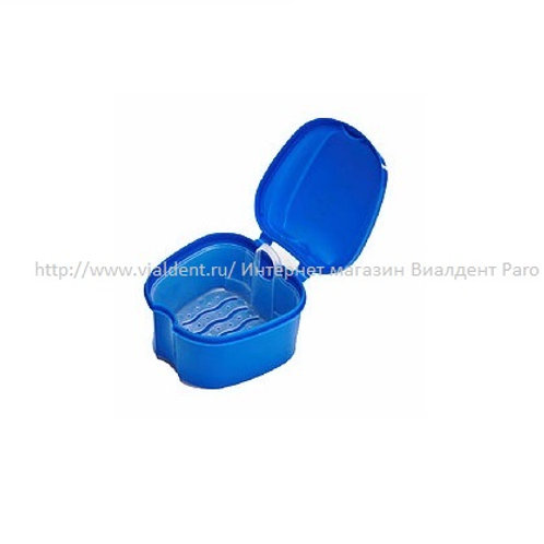 Емкость для очистки протезов. Контейнер для съёмных протезов