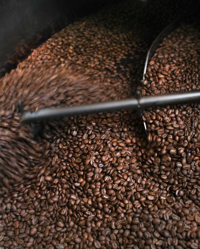 การคั่วเมล็ดกาแฟ