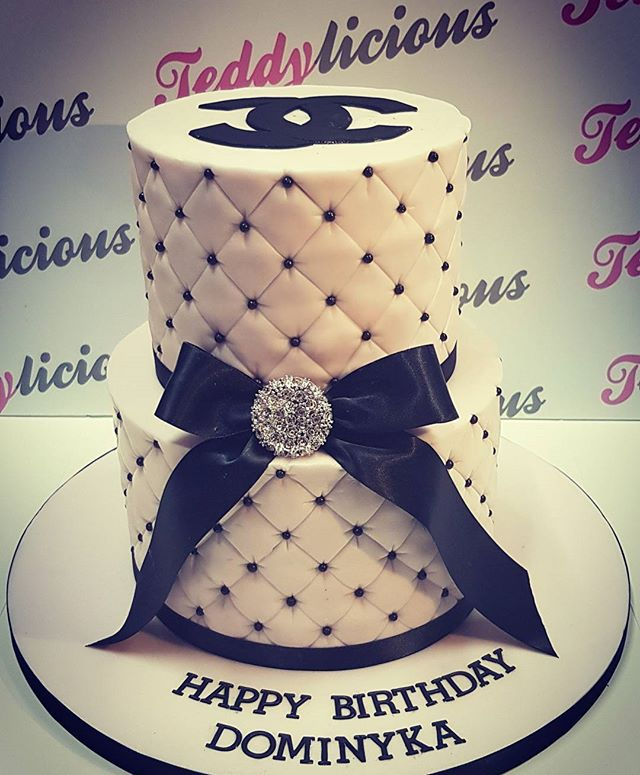 Chanel Two Tier Cake