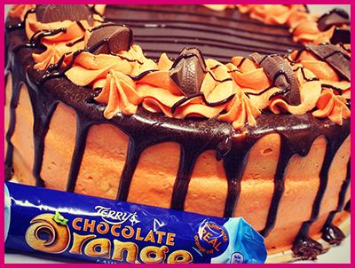 Terry Chocolate Orange Cake