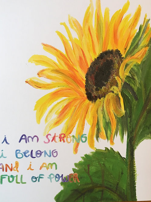Sunny Affirmation Art Print