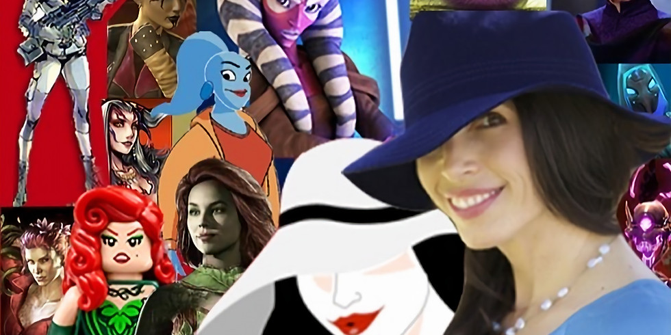 Voice Acting for Animation & Videogames w/ Tasia Valenza