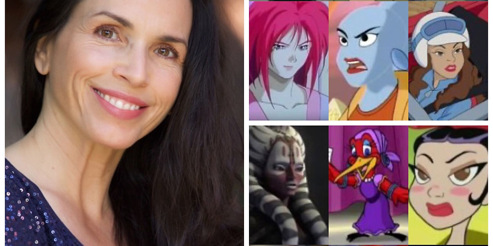 Acting for Animation w/ Tasia Valenza