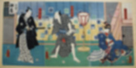江戸時代中期の歌舞伎「伊勢音頭恋寝刃」