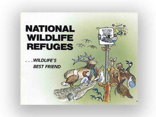 National Wildlife Refuges limited edition 90p book & bonus art CD, by Kent Olson
