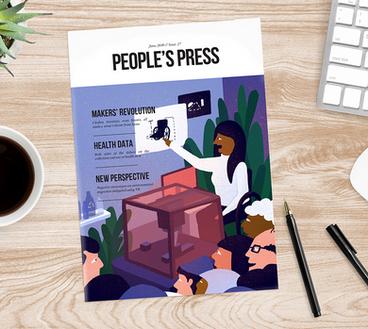 Magazine Cover - Nesta