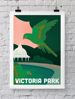 UK Travel poster series