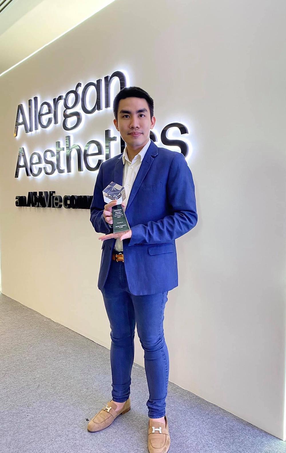 Awarded-2020-Allergan-Juvederm-Fillers-Metro-Bangkok-Clinic
