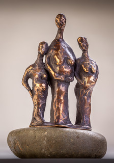 Three pregnant women