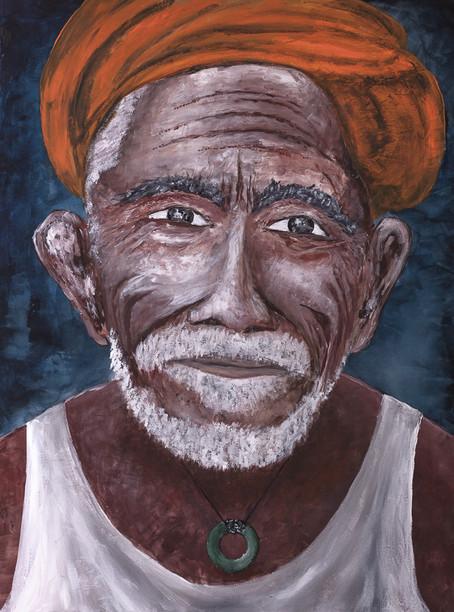 Wise man from the sea (Sri Lanka)