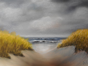 Island of Sylt, pastel