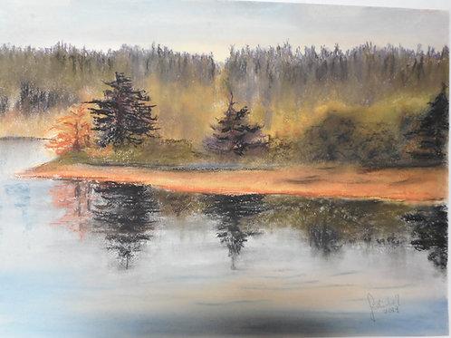 Cowichan Estuary (un-framed)