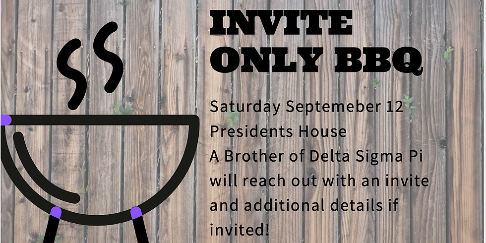 Invite Only Event