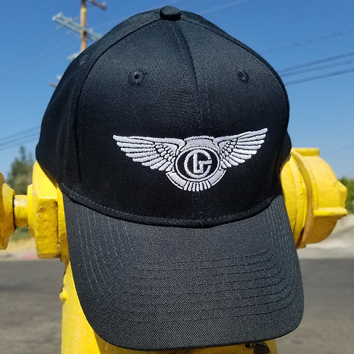 G FLIGHT BLACK SPORT CAP