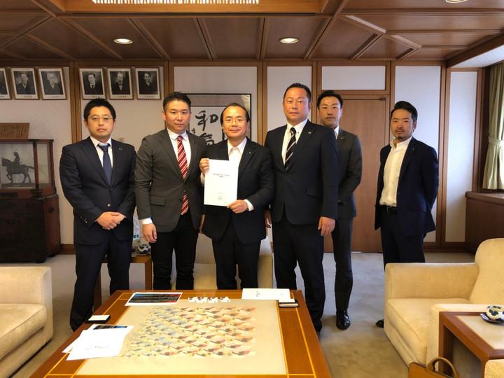 徳島創生塾より遠藤徳島市長へ提言