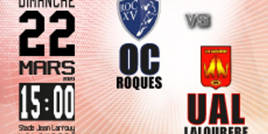 Roques OC vs UA Laloubère