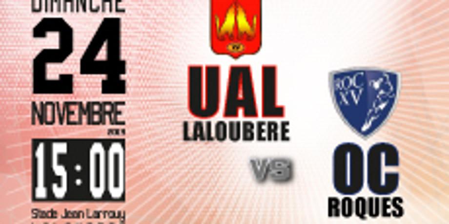 UA Laloubère vs Roques OC
