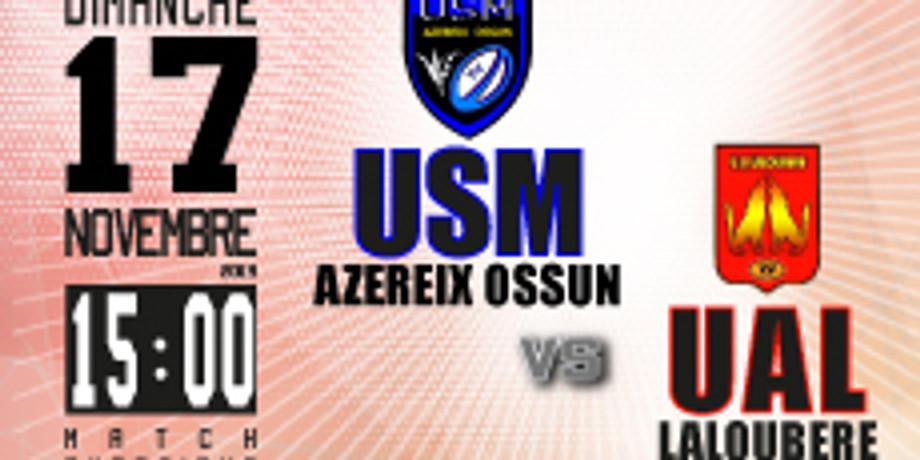 US Mardaing Azereix Ossun vs UA Laloubère
