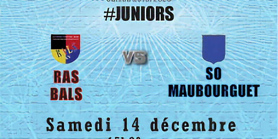 #Juniors : Bals vs SO Maubourguet