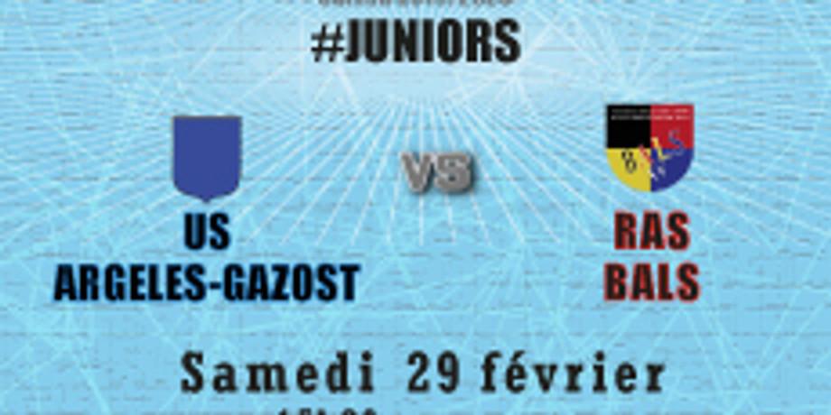 #Juniors : US Argelès-Gazost vs Bals