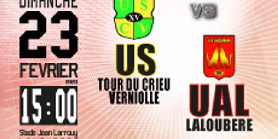 US Tour de Crieu-Verniolle vs UA Laloubère