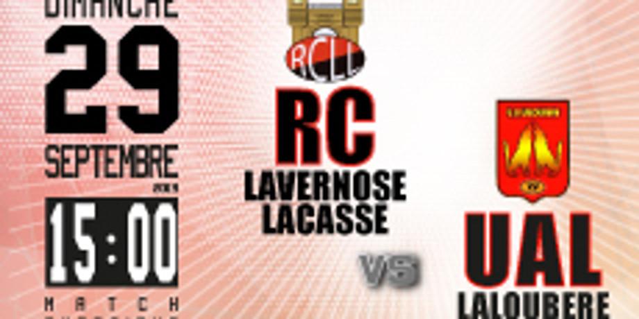 RC Lavernose Lacasse vs UA Laloubère