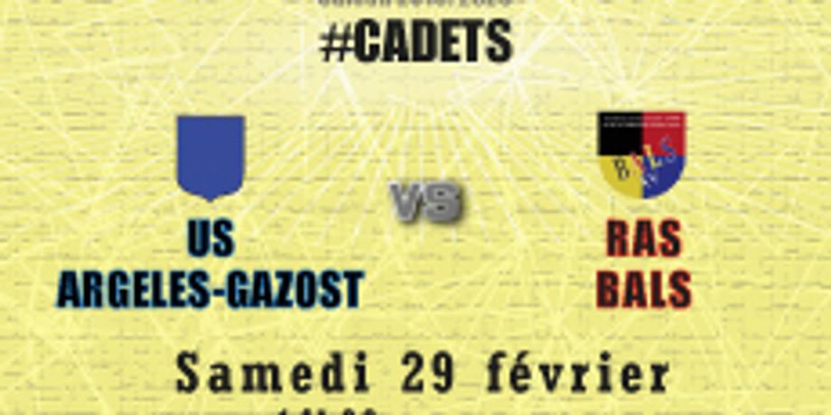 #Cadets : US Argelès-Gazost vs Bals