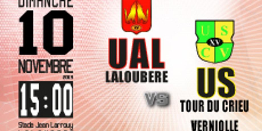 UA Laloubère vs US Tour de Crieu-Verniolle