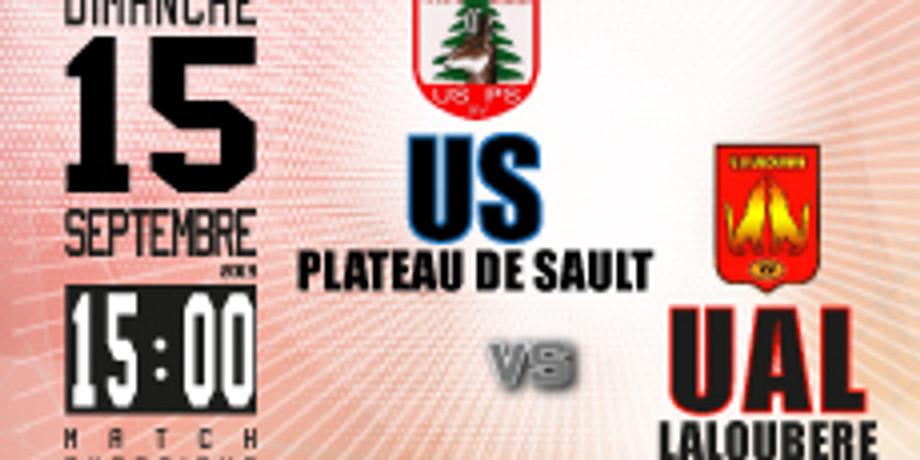 US Plateau de Sault vs UA Laloubère