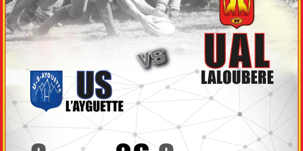 UA Laloubère vs US L'Ayguette