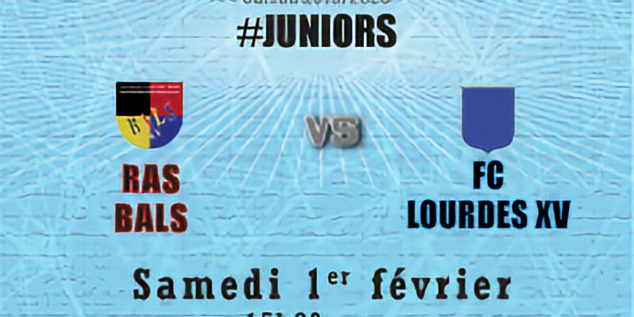 #Juniors : Bals vs FC Lourdes XV